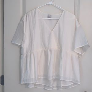 NEW OFF WHITE BLOUSE